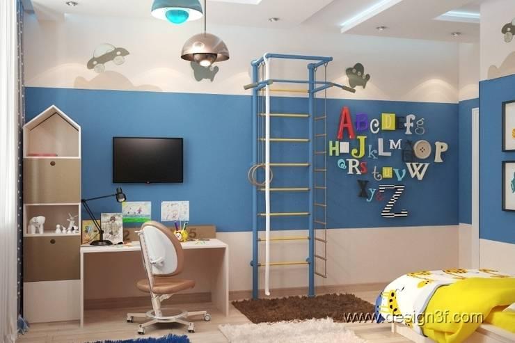 детская: Детские комнаты в . Автор – студия Design3F,