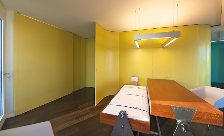 Studeerkamer/kantoor door 3rdskin architecture gmbh