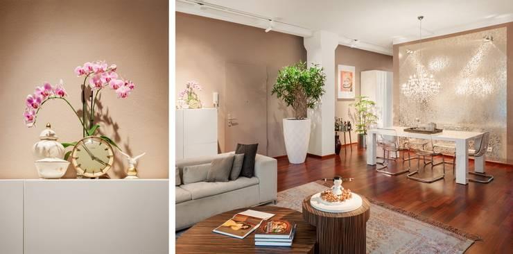 Wohnzimmer: moderne Wohnzimmer von BERLINRODEO interior concepts GmbH