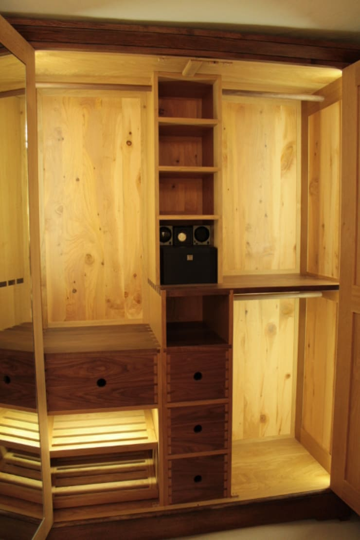 Modern Armoire:  Bedroom by Future Antiques