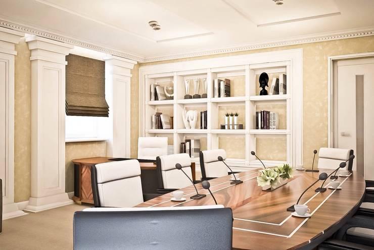 ห้องทำงาน/อ่านหนังสือ โดย STONE design, คลาสสิค