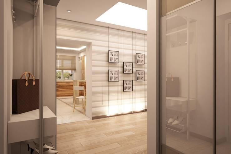 Простота и функциональность современного жилья: Коридор и прихожая в . Автор – Ksana Shkinch Architect