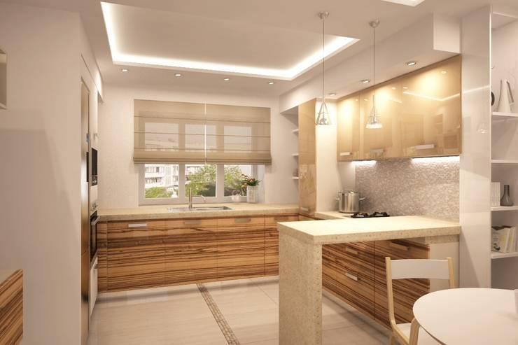 Простота и функциональность современного жилья: Кухни в . Автор – Ksana Shkinch Architect