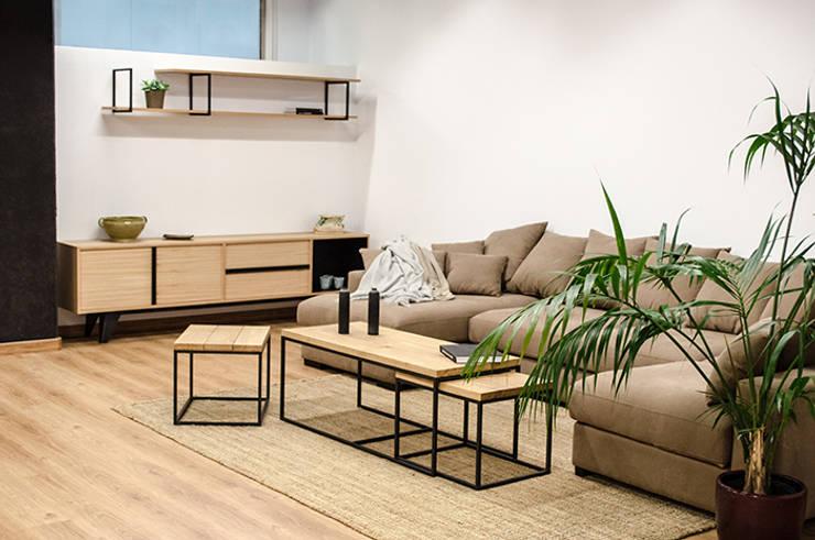 Cube Deco:  tarz Oturma Odası