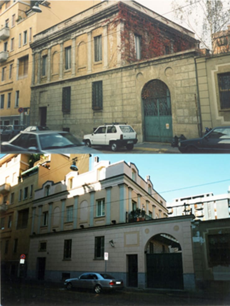 Prima e Dopo:  in stile  di Studio di Architettura Parodo