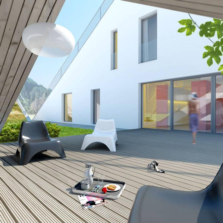 Dom Brda'12: styl , w kategorii Domy zaprojektowany przez doomo,Nowoczesny