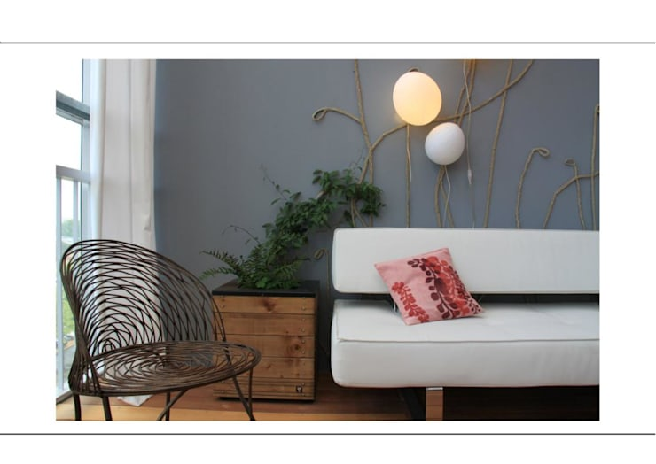 Living room by Green Origin