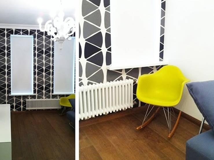 Интерьер квартиры на ул. Кирочная, Санкт-Петербург: Гостиная в . Автор – Архитектурное бюро Борщ