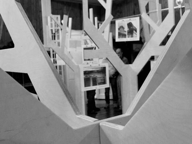 Выставка, посвященная усадьбе А.И. Штакеншнейдера: Медиа комнаты в . Автор – Архитектурное бюро Борщ