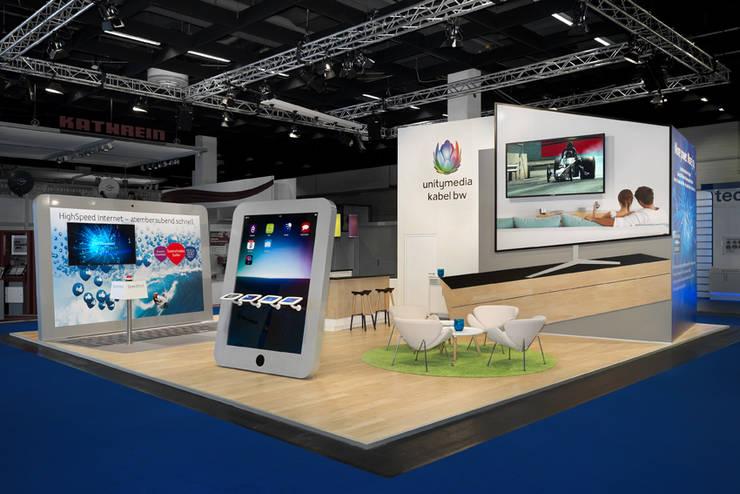 Messe Design:  Messe Design von Zittrich Corporate Interior,