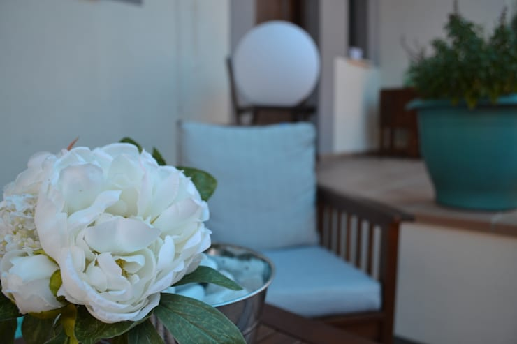 Jardines de estilo  por MIMESIS INTERIORISMO