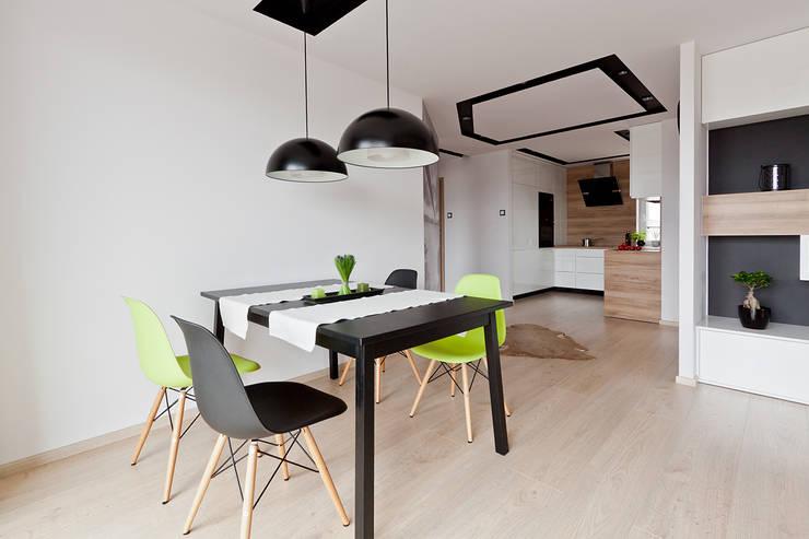 jadalnia: styl , w kategorii Jadalnia zaprojektowany przez ap. studio architektoniczne Aurelia Palczewska-Dreszler