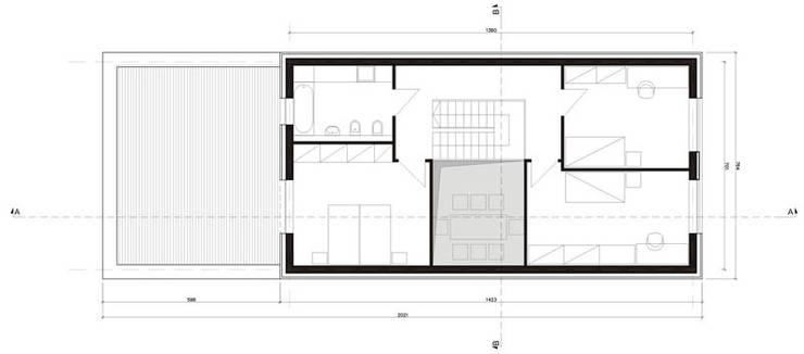 Osiedle Srebrne Stawy – dom typ B: styl , w kategorii  zaprojektowany przez j.krysiak,Nowoczesny