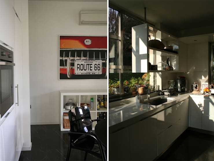 Villa bifamiliare:  in stile  di Studio Maggiore Architettura, Moderno