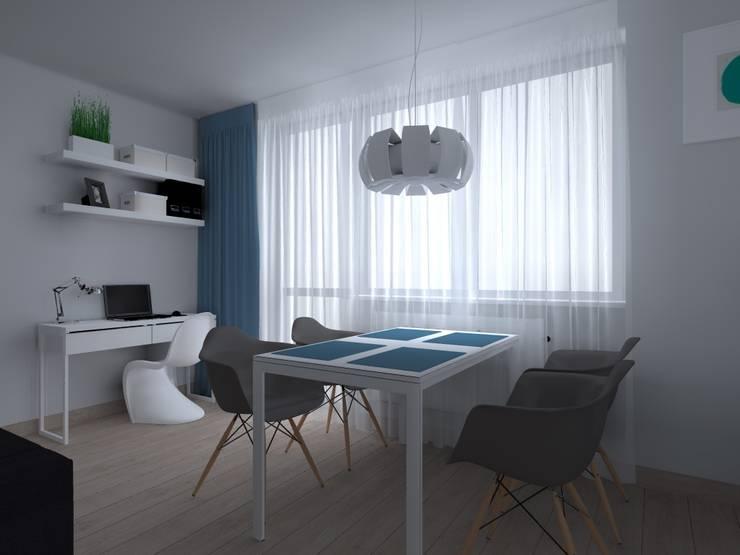 mieszkanie w Kwidzynie: styl , w kategorii Jadalnia zaprojektowany przez ap. studio architektoniczne Aurelia Palczewska-Dreszler