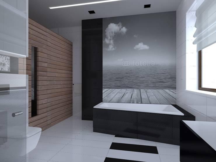 dom w Iławie: styl , w kategorii Kuchnia zaprojektowany przez ap. studio architektoniczne Aurelia Palczewska-Dreszler,Nowoczesny