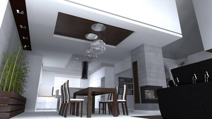 dom w Iławie: styl , w kategorii Łazienka zaprojektowany przez ap. studio architektoniczne Aurelia Palczewska-Dreszler