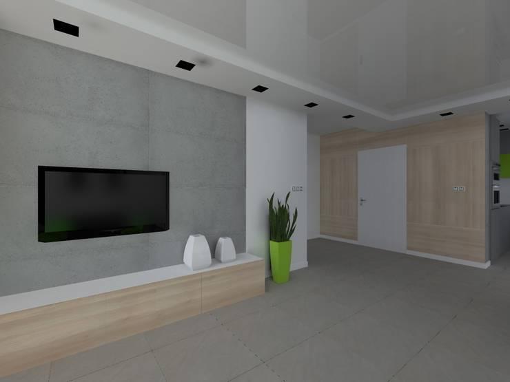 dom w Mikołajkach Pomorskich: styl , w kategorii Korytarz, przedpokój zaprojektowany przez ap. studio architektoniczne Aurelia Palczewska-Dreszler