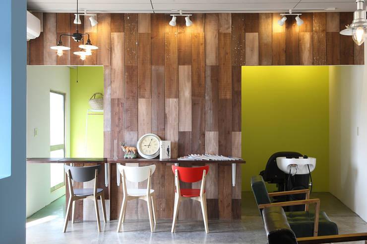 VabE hair: コムデザインラボが手掛けたオフィススペース&店です。