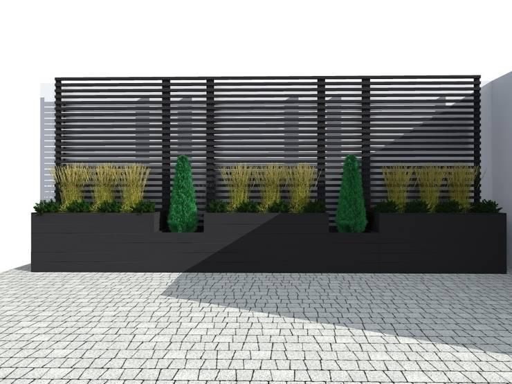 trejaż: styl , w kategorii Ogród zaprojektowany przez ap. studio architektoniczne Aurelia Palczewska-Dreszler