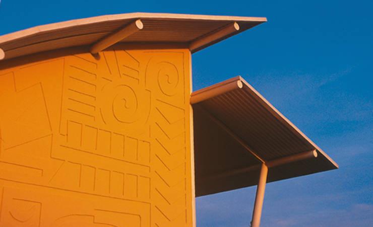 Casas de estilo  por JOAO DINIZ ARQUITETURA