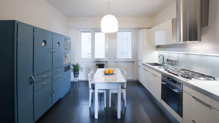 Appartamento ad Ostiense - Roma: Cucina in stile  di Archifacturing, Moderno