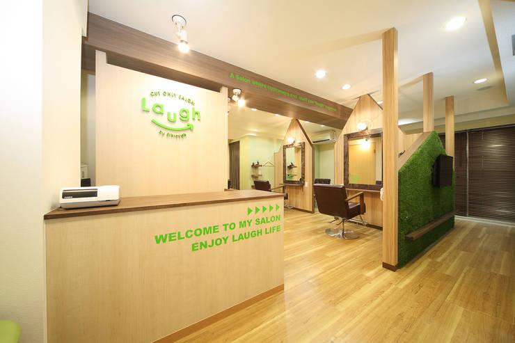 カットオンリーサロン ラフ青葉台店 : コムデザインラボが手掛けたオフィススペース&店です。