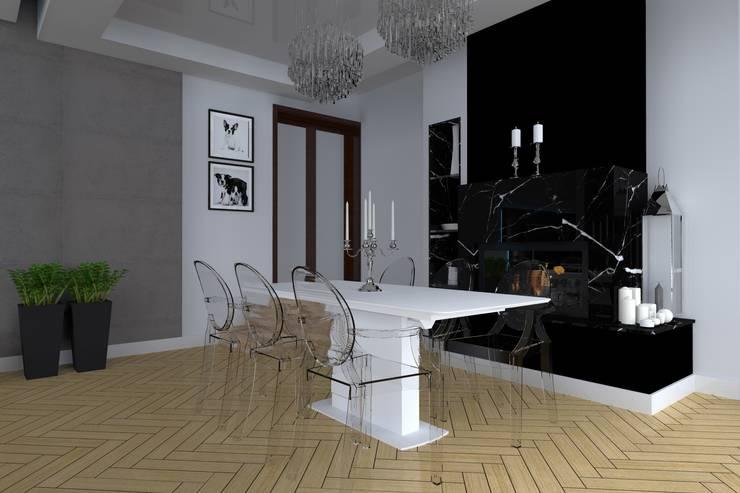 餐廳 by ap. studio architektoniczne Aurelia Palczewska-Dreszler,