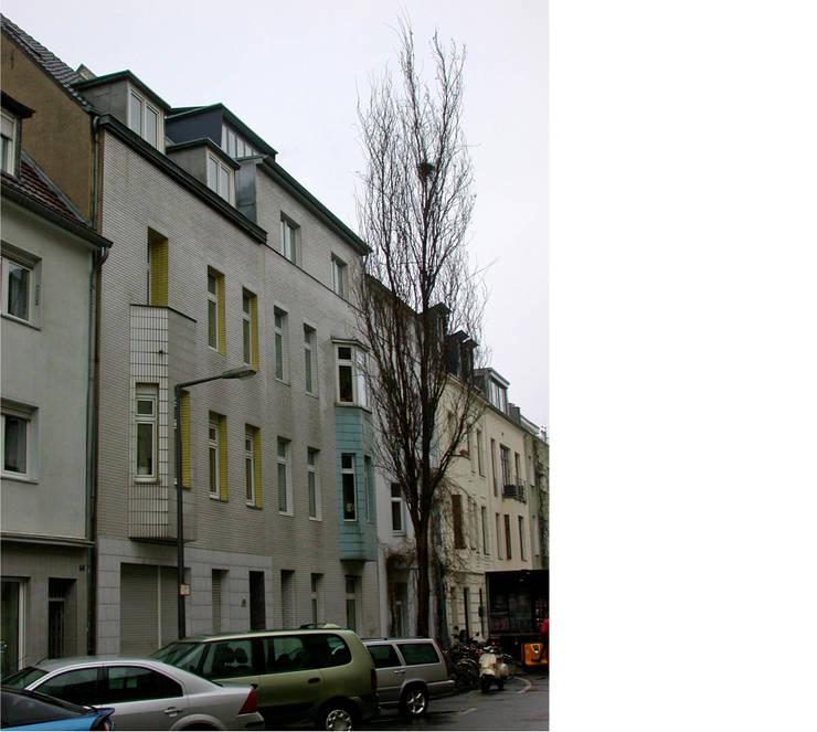 straßenfassade _ ost _ bestand:   von beissel schmidt architekten