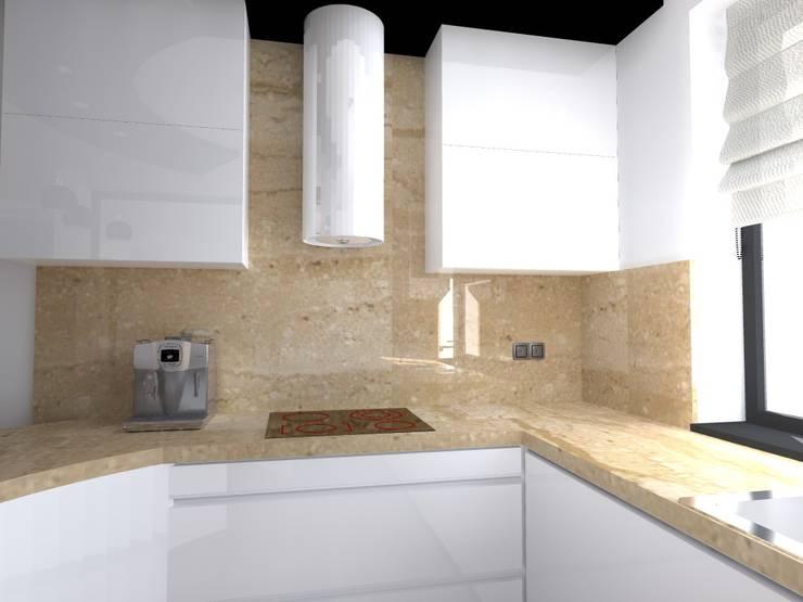 dom koło Nowego Miasta Lubawskiego: styl , w kategorii Kuchnia zaprojektowany przez ap. studio architektoniczne Aurelia Palczewska-Dreszler