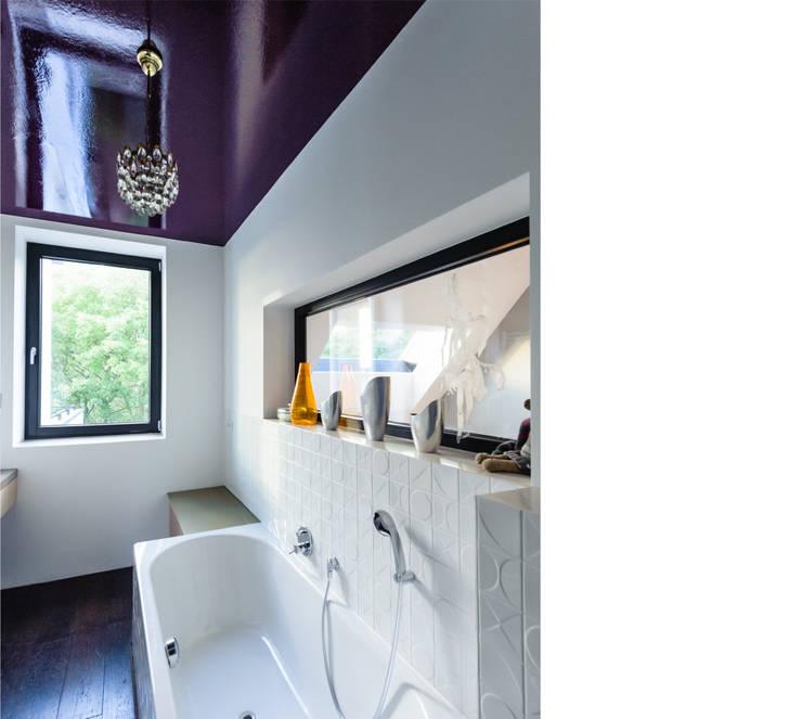 bad _ 3. obergeschoß:  Badezimmer von beissel schmidt architekten