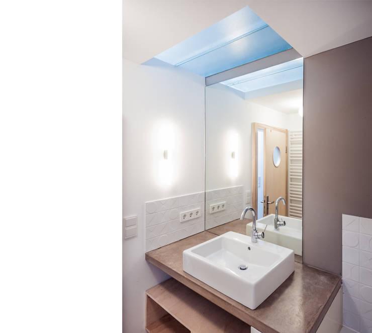 Casas de banho modernas por beissel schmidt architekten