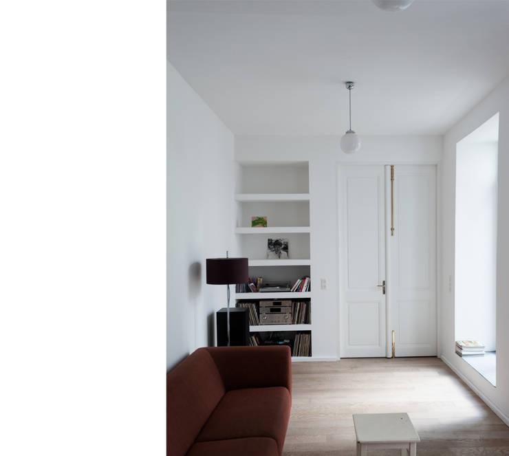 Projekty,  Salon zaprojektowane przez beissel schmidt architekten