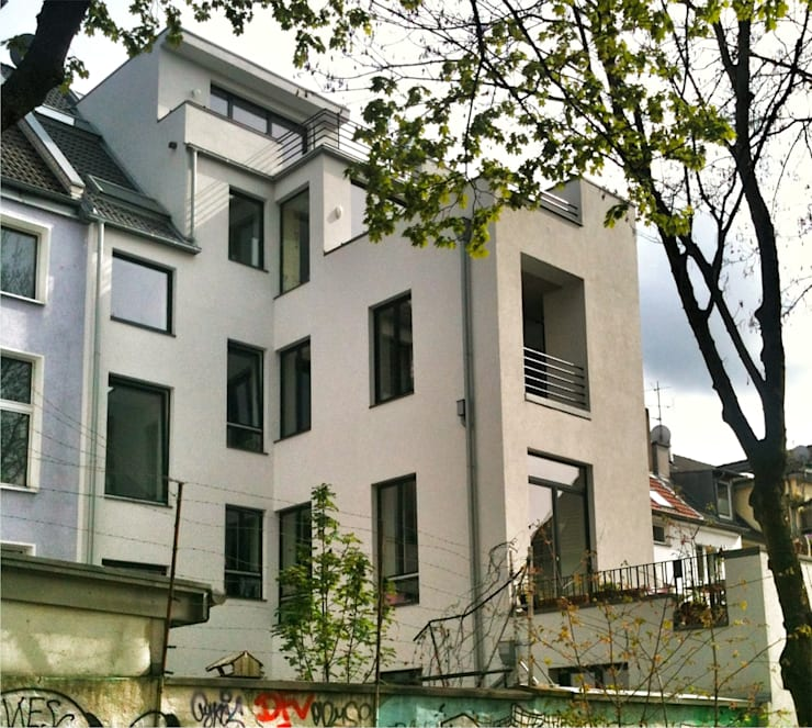 Projekty,   zaprojektowane przez beissel schmidt architekten