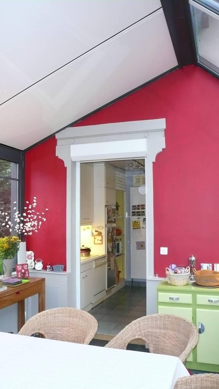 agrandissement Gagny : Terrasse de style  par garnault