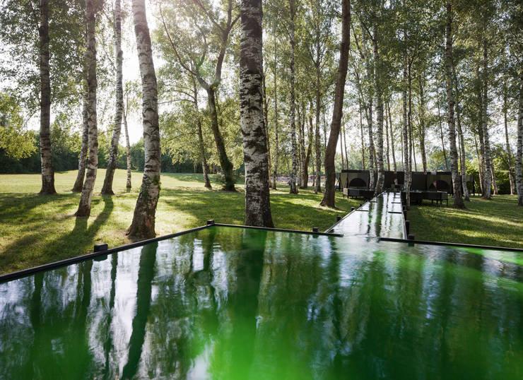 SPIRULINA FOUNTAIN:  Garden  by Bureau A