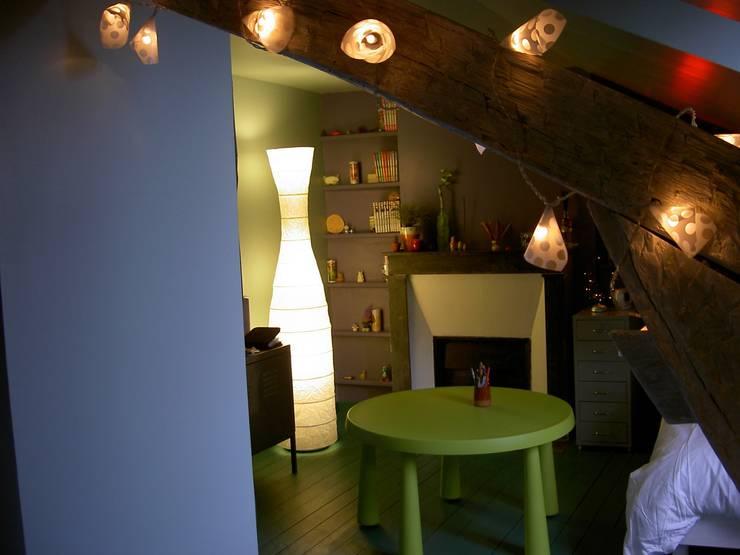 studio Le Perreux sur Marne : Chambre de style  par garnault