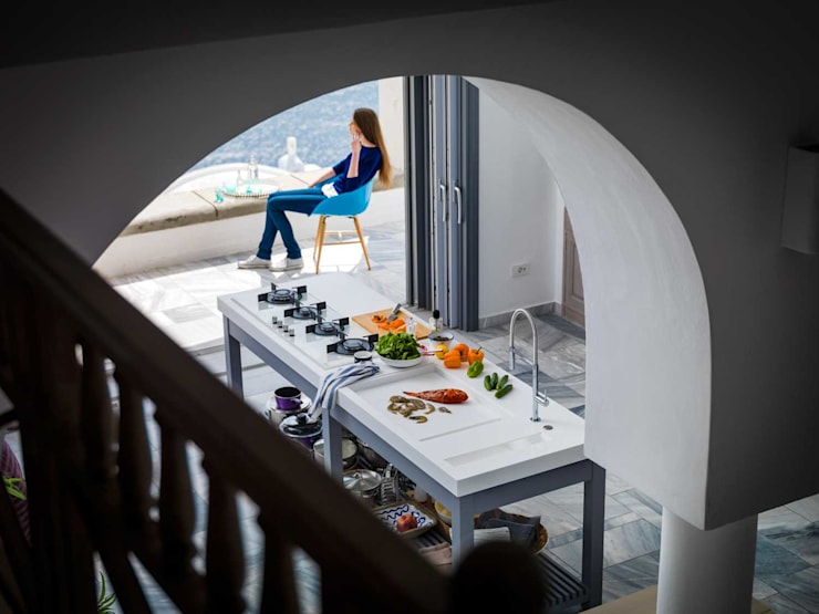 Franke Santorini: Cocina de estilo  de FRANKE