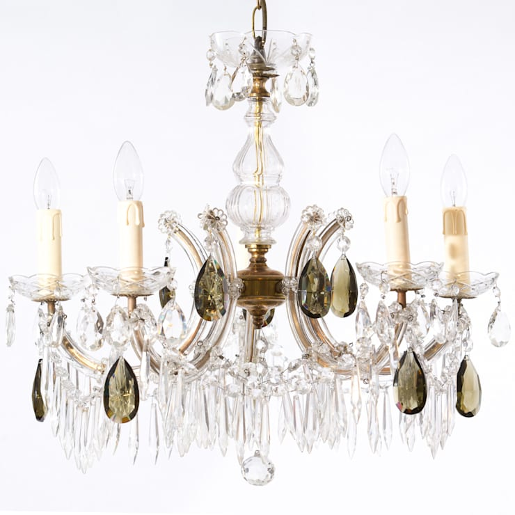 Chandeliers:  Corridor, hallway & stairs by The Vintage Chandelier Company