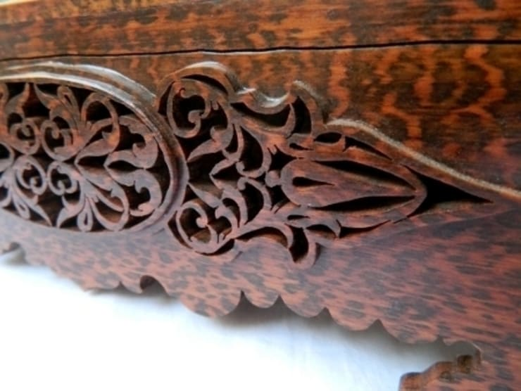 Mehmetmarangoz – Snakewood Koleksiyonluk Ürün Kutusu:  tarz İç Dekorasyon