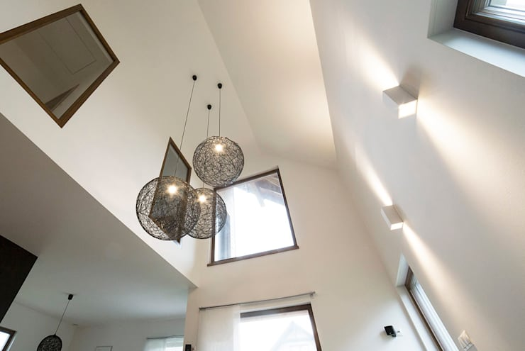 Salas / recibidores de estilo  por Och_Ach_Concept