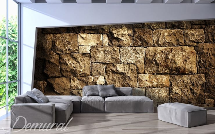 Digital Fortress:  Living room by Demural