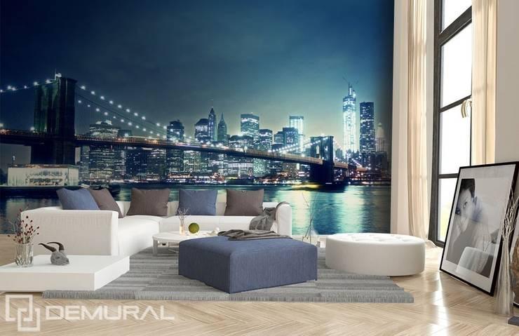 In the city light:  Living room by Demural
