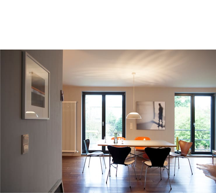 Dining room by beissel schmidt architekten