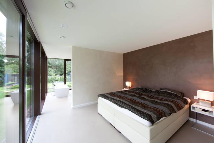 Offenes Schlafen:  Schlafzimmer von Hermann Josef Steverding Architekt