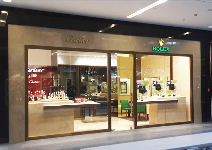 Ayaz Ergin İç Mimarlık  – ROLEX - CARTIER:  tarz Ofisler ve Mağazalar