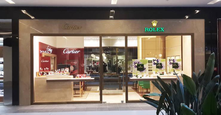 Ayaz Ergin İç Mimarlık  – ROLEX – CARTIER:  tarz Ofisler ve Mağazalar