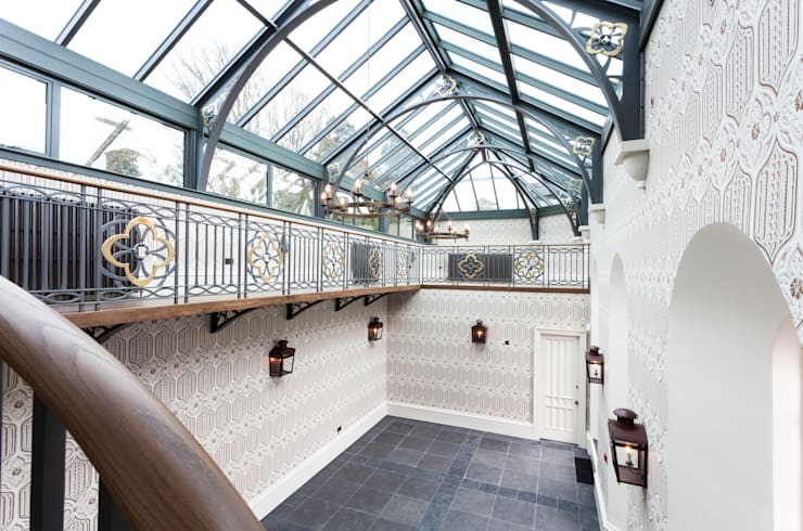 A-Listed Castle & Chapel :  Conservatory by GLM Ltd.