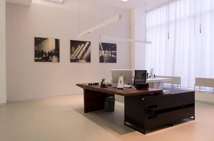 Despacho de alta dirección en Moscou: Oficinas y tiendas de estilo  de AG Barcelona