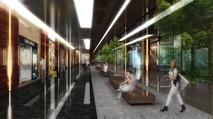 Centres commerciaux de style  par Ayaz Ergin İç Mimarlık , Moderne